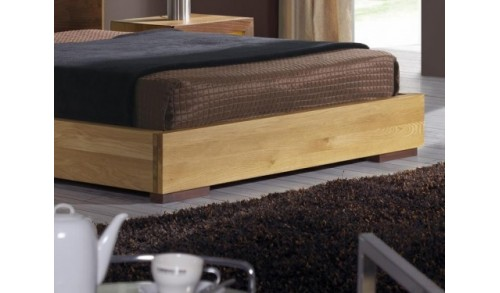 Pat dormitor lemn masiv HAVANA 2 pentru saltea 180/200 cm