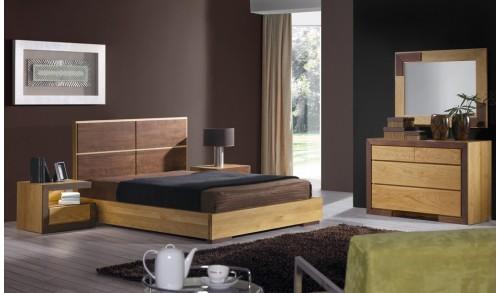Noptiera dormitor lemn masiv HAVANA 2 55x35x45 cm