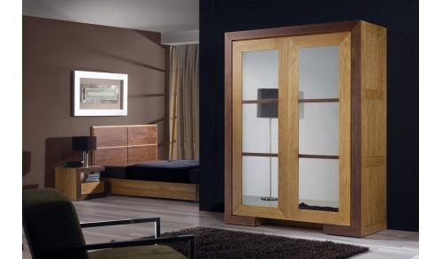 Dulap lemn masiv cu 2 uşi HAVANA