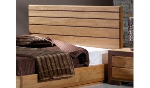 Pat dormitor lemn masiv HAVANA 1 pentru saltea 180/160/140-200 cm