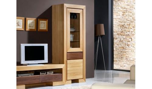 Vitrină 2 uşi 1 sertar HAVANA 77/45/200 cm