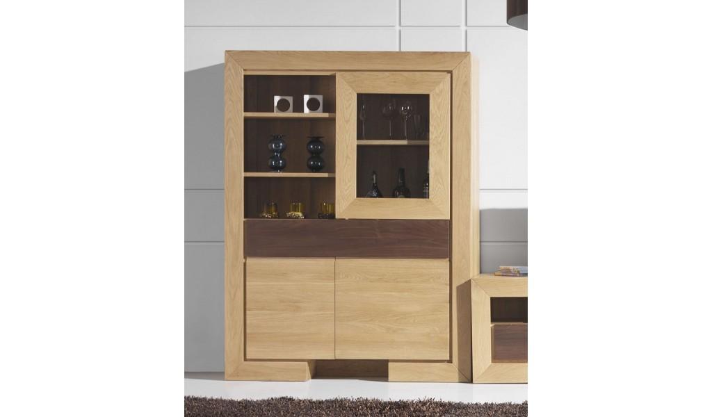 Vitrină 3 uşi 1 sertar HAVANA 120/45/160 cm